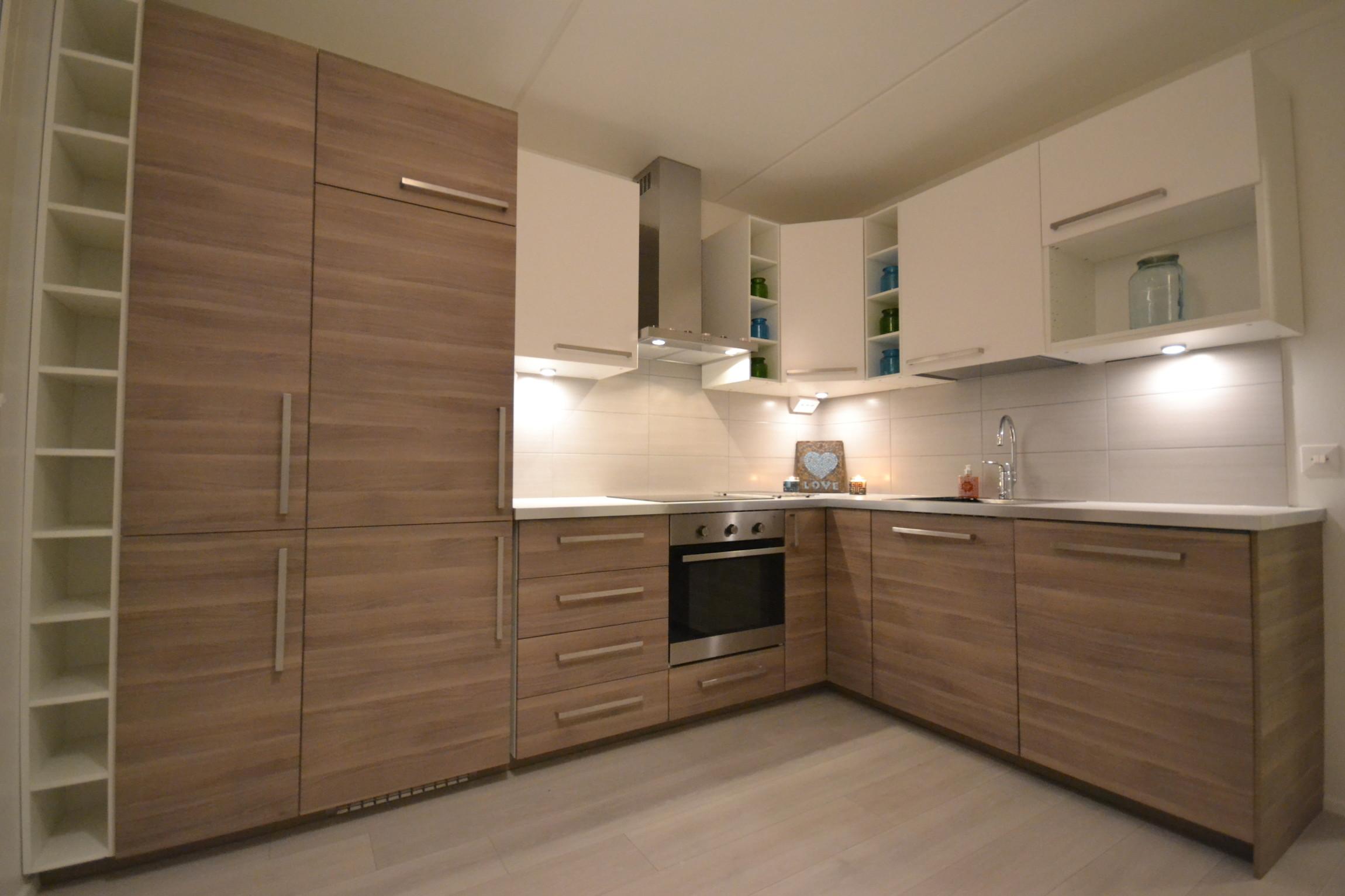 Muroleenkadun kaksion keittiö on nyt valmis – Koti Valkonen Oy